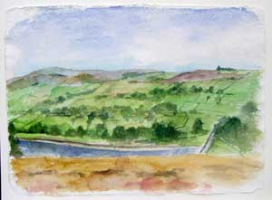 View from Penistone Hill – II