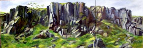 Rocky Valley (diptych)