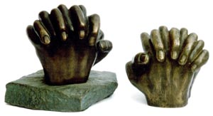 Hands (with base)