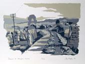 Gateposts at Addingham Moorside